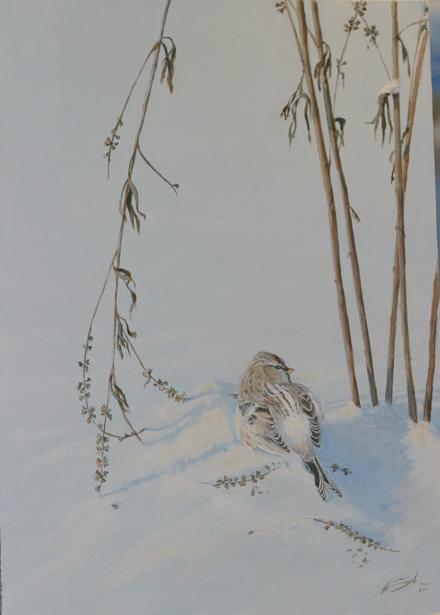 Hanna Aallon maalaus